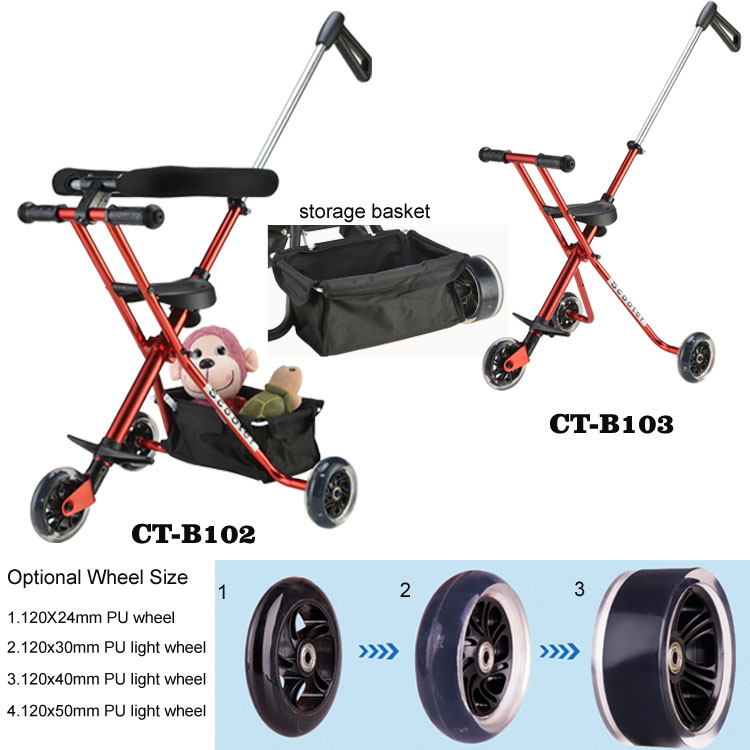 custom folding 3 wheel jogging bicycle baby stroller