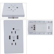 BX-U011 Universal Euro Type Electric Multi-Function USB Power Wall Socket