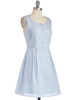 CHEFON Accordion pleat decorative front buttons chambray womens cotton dresses