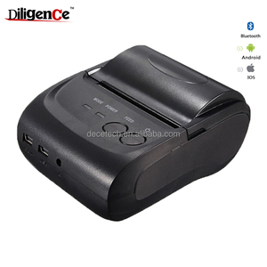 Multiple Machine Connection 58mm Bluetooth Mobile Thermal Receipt Printer Restaurant Bill Printer support tablet/mobile phone