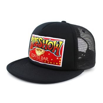 Custom Cheap Foam 5-panel Black Mesh Trucker Hat Cap - Buy Cheap 5 ... 67b38251dd2