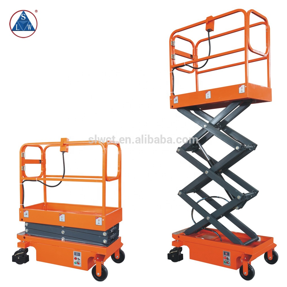Battery Powered Electric Small Scissor Lift Mechanism - Buy Small Scissor  Lift Mechanism,Electric Small Scissor Lift Mechanism,Powered Small Scissor
