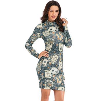 02031e0dfc Hot wholesale floral bodycon formal dresses,spandex club wear tight dress,beautiful  dresses