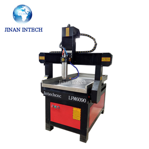 high configuration 5 axis cnc carving machine Intechcnc 6090 with cnc stone machine