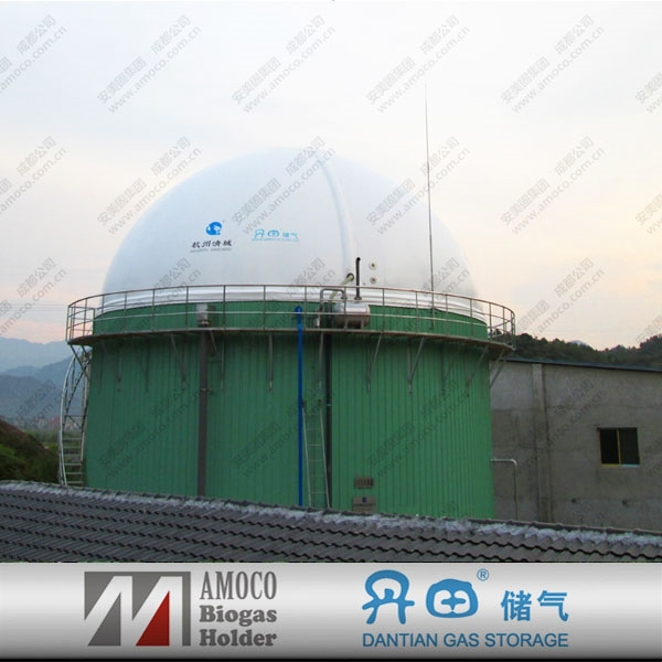Anaerobic reactor biogas digester wastewater treatment for biogas plant