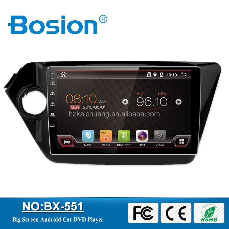Bosion 10.1Inch HD Full Touch Screen Double din Android Car DVD Player for K3 Audio System Bluetooth 3G