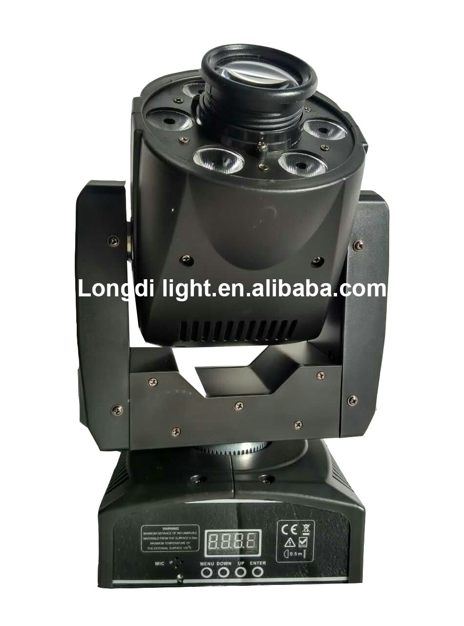 Cheap 6x8w led wash+30w Led Gobo Effect moving head spot Stage Dj light