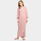 New arrival islamic ladies dress muslim women embellished abaya kaftan