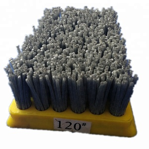 Yellow color abrasive Frankfurt polishing brush
