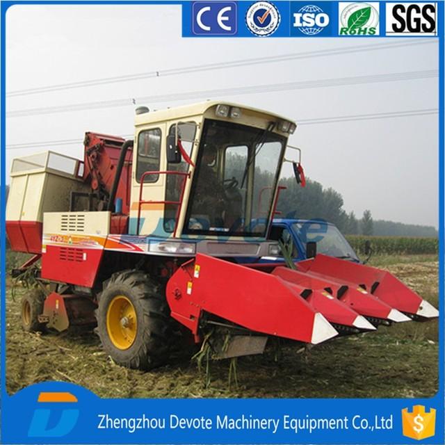 2 Row Maize Combine Harvester Yuanwenjun Com