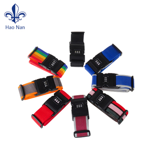 Wholesale Various Styles Luggage Belt Strap With Plastic Clip Hook