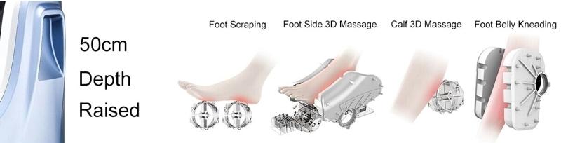 โรงงาน Supply Body Care Vibrating เท้าขา Massager