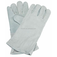 Brand MHR cow split leather working gloves importer in italy
