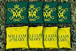 NCAA Replacement All Weather Cornhole Bag Set NCAA Team: College Of William & Mary Tribe