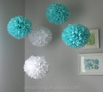 Diy Hanging Mini Paper Craft Flower Ball For Weddingbirthday And