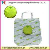 2017 Fashion Reuseable Fancy Folding ball shape Shopping Bag