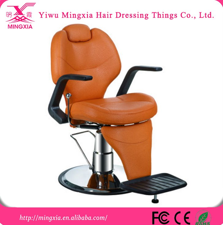 Orange salon barber chairs from wholesale barber supplies MX--2668A