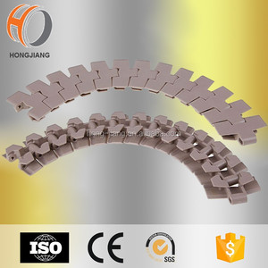 H880 TAB plastic sideflex conveyor chains