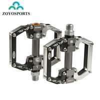 ZOYOSPORTS Ultralight MTB Bike Bicycle Hollow Pedals Mountain Road Bike Pedal Cycling Aluminum Alloy Pedal