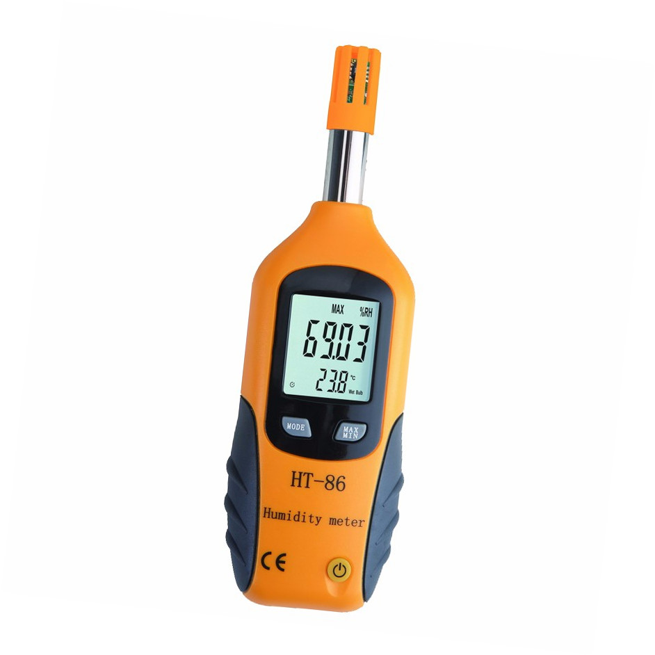 temperature and humidity indicator practical wireless thermo-hygrometer HT-86 from instrument manufacturer - KingCare | KingCare.net