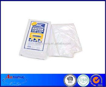 low density plastic drop sheet