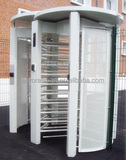 Rfid Full Height Rotate Gate Turnstile for Building Management System