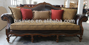 Delicieux Elegant Spanish Style Living Room Furniture Set, Antique Sofa With Wooden  Carved