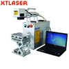 XT Laser portable 10W 20W 30W 50W desktop Raycus IPG mopa metal optical fiber laser wire marking machine price