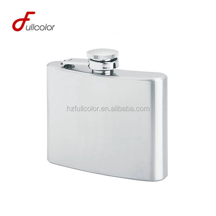 FDA pass BPA free stainless steel mini hip flask with keychain