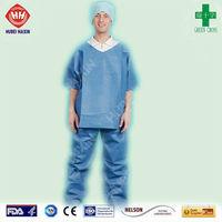 Disposable Medical Scrub Suit Design