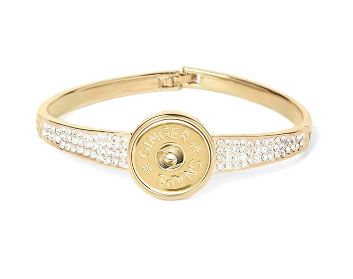 Ginger Snaps (Simulated) Gold Stones Galore Bracelet (Standard Size) SN95-78 Interchangeable Jewelry