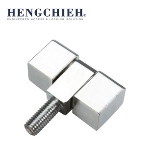 Steel Cabinet Screw Bolt Hinge with Bright Chrome Plated