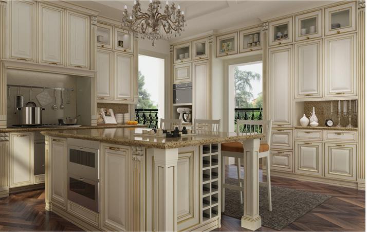Luxus Weißen Lack Küchenschrank Italienische Küche Design - Buy ...