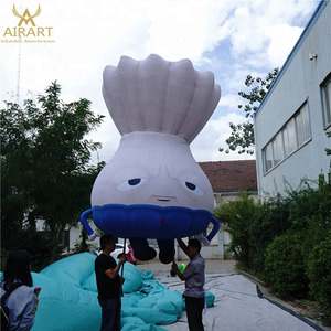 customized inflatable vegetable mascot model,inflatable onion cartoon character
