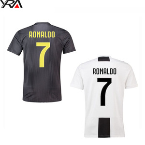 89e7c8e54 wholesale china t-shirts soccer teams 2019 dybala ronaldo custom football  kit soccer jersey uniform