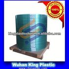 Cable shielding copolymer coated steel coil
