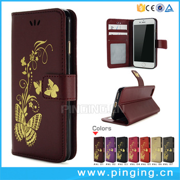 premium selection a3ce9 0f4c5 Newest Funky Gilding Butterfly Pattern Card Slots Flip Cover Case For  Micromax Canvas 5 Lite Q462 Leather Case - Buy Flip Cover Case For Micromax  ...