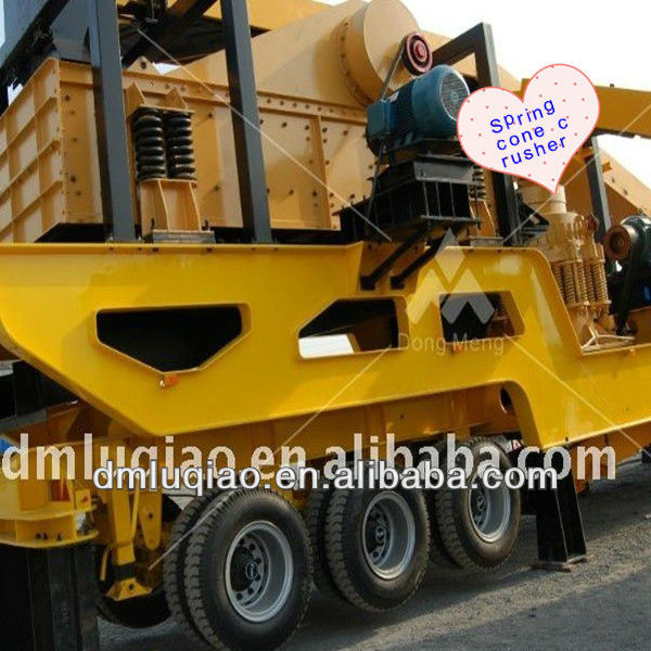 China Best mobile hydraulic spring cone crusher price for sale symons