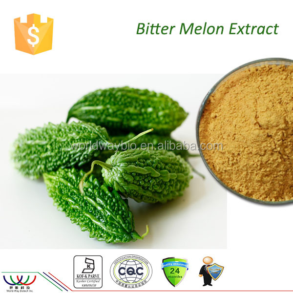 HACCP Kosher FDA cGMP free sample lower blood sugar anti-virus products 10% charantin 10% total saponins bitter melon powder