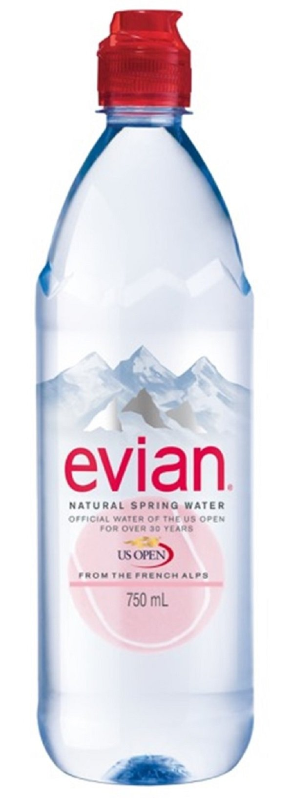 Cheap Evian Spring Water Find Deals On Line At Facial Spray 300 Ml Get Quotations Natural 750 Sport Cap 12 Count