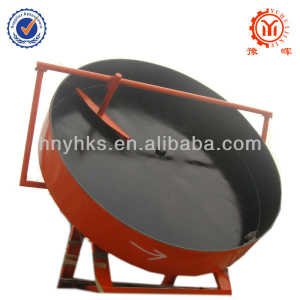 Good performance compound disc granulator for iron and steel industry