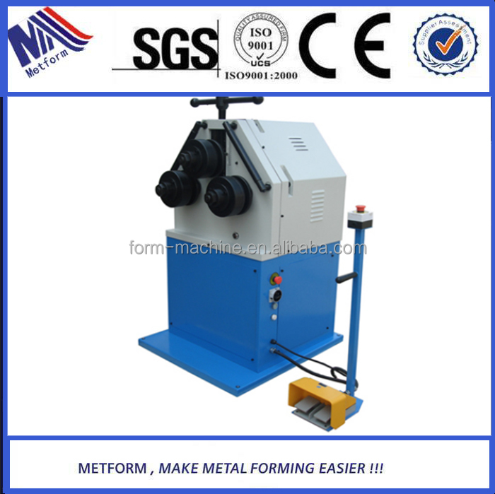 Made In China hydraulic flat bar bending machine exported to Europe
