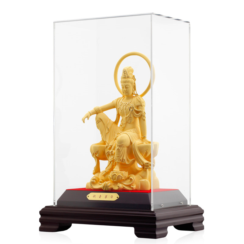 24k Gold Plated guanyin buddha statues high quality statue