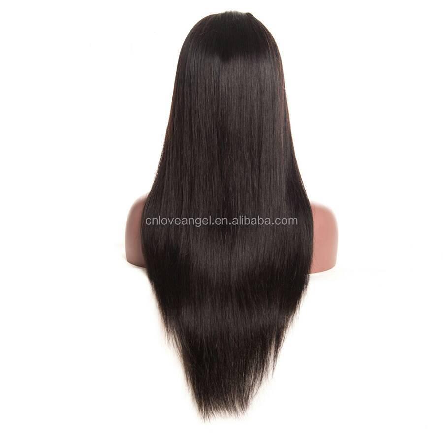 Brazilian Silky Straight Human Hair Full Lace Wig Wholesale фото