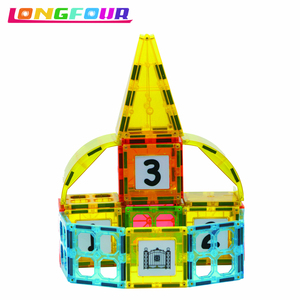 Safety certified new stackable toy car kid magnetic toy