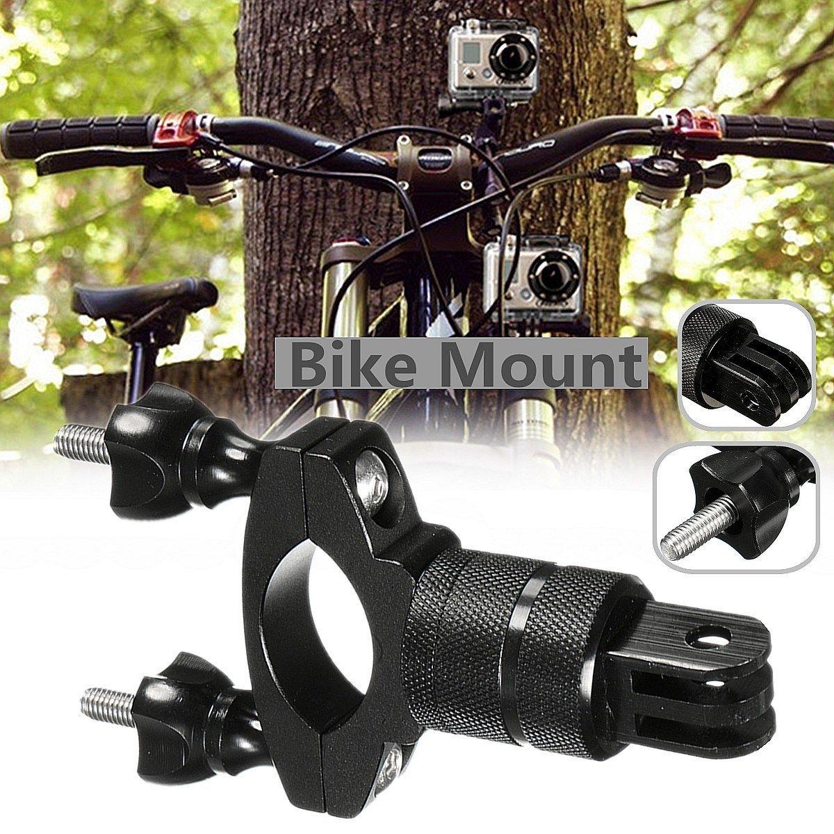 M.Way Bike Motorcycle Handlebar Mount Camera Mount Kit Seatpost Mount Pivot Arm For Gopro Camera