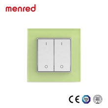 MENRED Home wall พลังงานแสงอาทิตย์แบตเตอรี่ไม่มีสายไฟ touch smart switches สำหรับ home automation