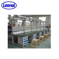 LN-SAW01 ESD Lab steel work benches for factory