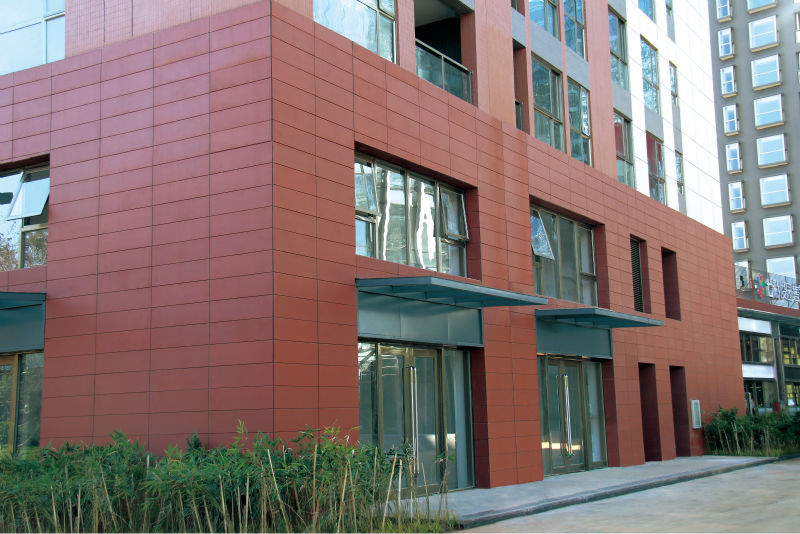 Exterior Wall Terracotta Cladding Panel Eureka Terracotta