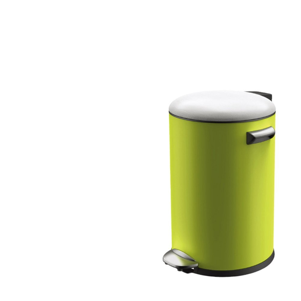 Creative simplicity home living room trash can/European-style kitchen/ bathroom trash can with lid-K